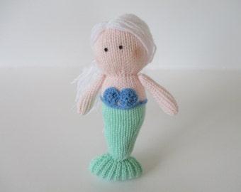 Marina the Mermaid toy knitting patterns