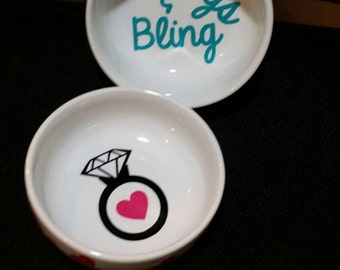 Ring dish Just Engaged , Ring Dish, Jewelry Dish, Jewelry Holder, Wedding Gift, Bridal Shower, Engagement
