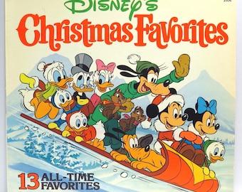 Disney Christmas Favorites Album Cover Purse Custom Made Vintage Record Purse Walt Disney LP Album Handbag Tote