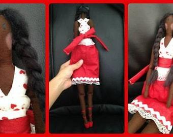 Tilda Doll-Handmade-One of a Kind-Regina