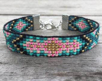 Bollywood Handmade Beaded Bracelet