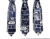 Boys - Star Wars Velcro Neck Tie, READY TO SHIP