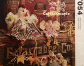 Sewing Pattern This is Know Yoke Decorative Chicken Chicks Hen Dressed Stuffed Figures 1994  Uncut