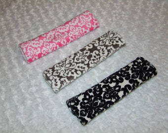 Damask Seat Belt Cover-  - Ships in 1-3 Days-