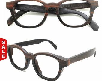 Sale - 10% Off Cover-m Handmade Ebony Wooden Takemoto Sunglasses