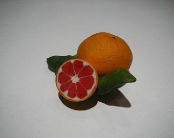 Vintage Florida Orange Fruit 3D Dimensional Magnet