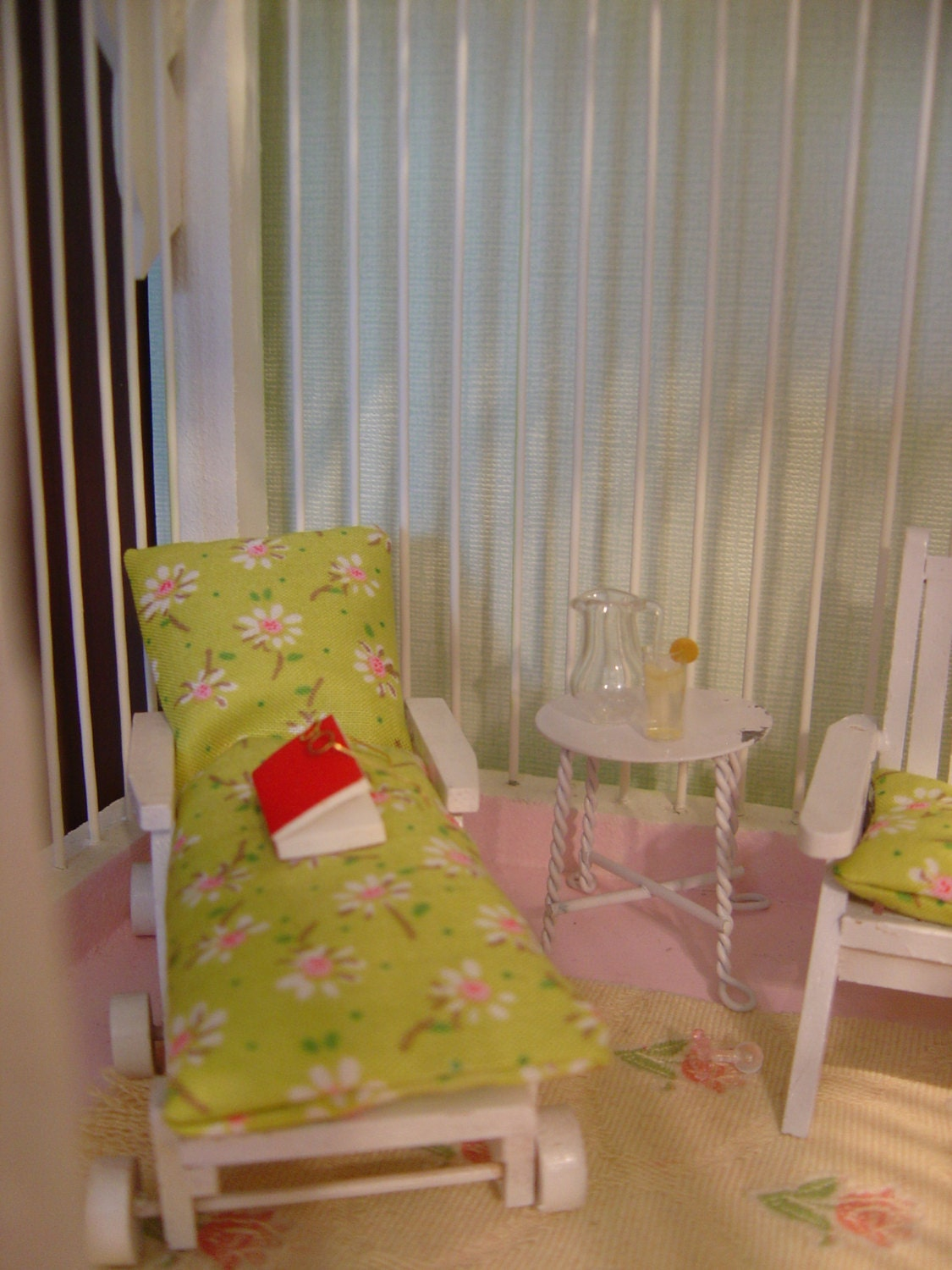 Miniature Children S Bedroom Room Box Diorama: Dollhouse Gazebo / Room Box / Diorama Miniature Reading Room