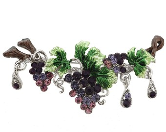 Purple Grapes Pin Brooch 1004592