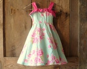 vintage Polly Flinders little girls dress // size 4T