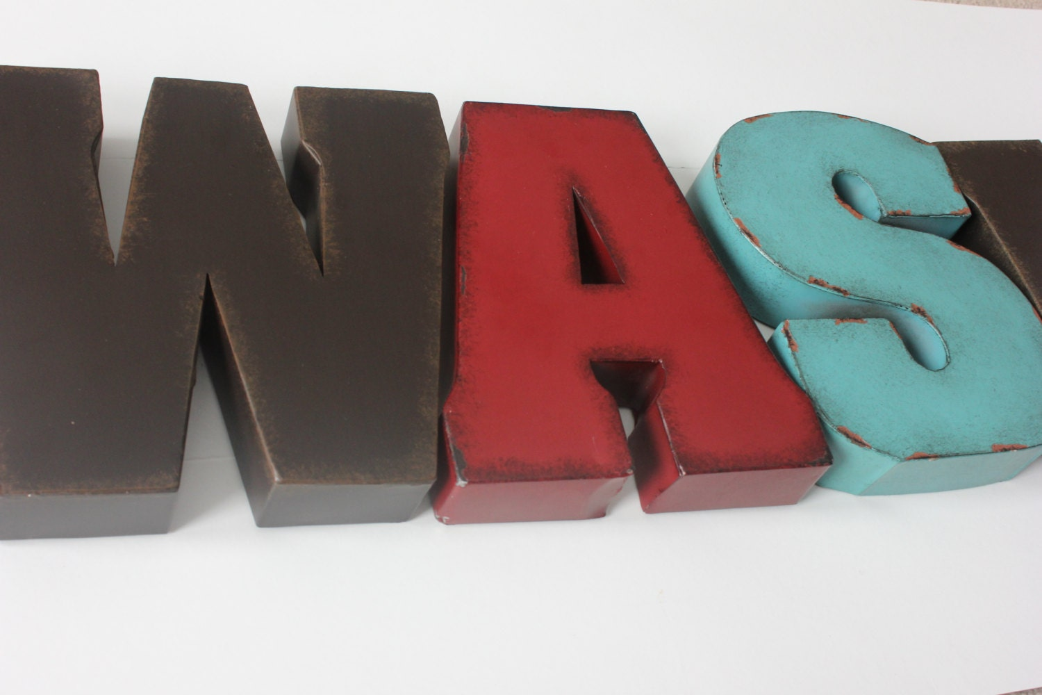 2 Large 11 LETTERS Large Initial Laundry Room Home Decor