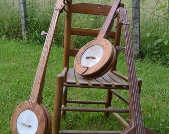 Home made Fretless Mountain Banjo