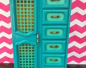 Jewelry Box in Turquoise- Arianna