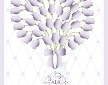 Baby Guestbook Flower Inspired Art Print-Baby Tulip Blossoms