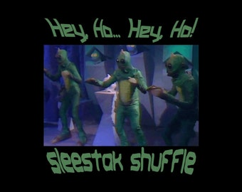 Sleestak Shuffle T-Shirt - Land of the Lost parody