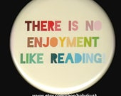 I Enjoy Reading Button