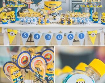 Minions Birthday | Minions Party | Minions Party Printable | Minions Decorations | Minions Printable