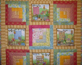 Quilter's Throw Quilt
