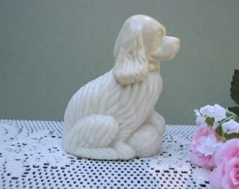 Avon Cocker Spaniel - Dog Puppy Perfume Bottle - Oak Hill Vintage