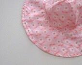 Toddler Beach Hat, Baby Sun Hat, Baby Floppy Hat, Sun Hat Baby,Toddler Sun Hat, Pink -  Ready to Ship