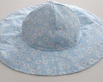 Toddler Beach Hat, Sun Hat Baby, Toddler Sun Hat, Baby Floppy Hat, Toddler Sun Hat  -  Ready to Ship