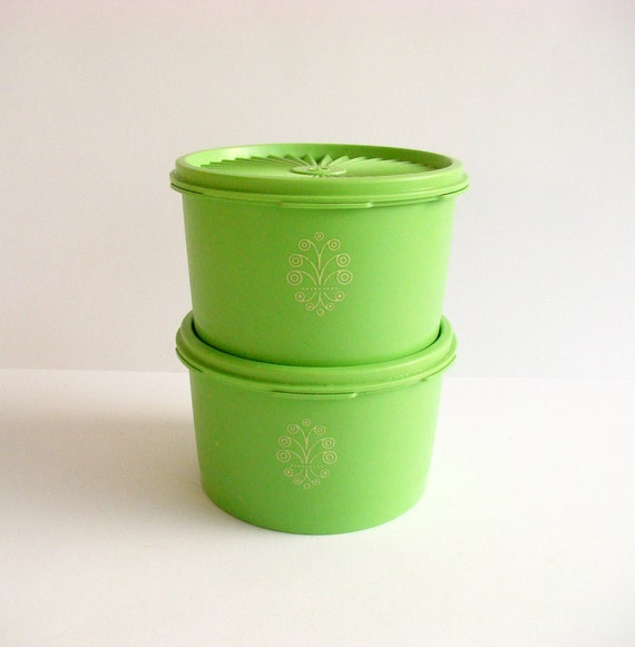 tupperware kitchen storage containers green tupperware containers kitchen storage retro 6393