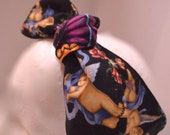 Retro Rockabilly headband Dolly Bow Rosie the Riveter Top Knot Hair Tie