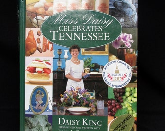 Miss Daisy Celebrates Tennessee Recipe Book SIGNED Cookbook Hardback Autographed