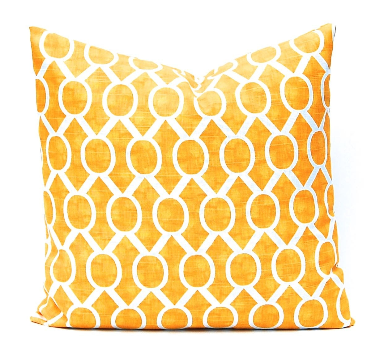 Yellow Down Throw Pillows : Yellow Pillows Yellow Cushion Cover Yellow Throw Pillow