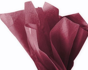 Tissue Paper - 20 Sheets Premium CABERNET WINE