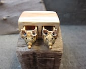 Miniature drawer with animals, wood carving, wood box, Wood sculpture, reclaimed wood, miniature art, animals, unique gift, Made to Order