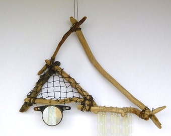 DRIFTWOOD CHIME DREAMCATCHER