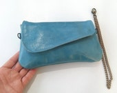 Leather pouch wallet, leather wallet case, leather pouch bag, iphone 5 case, leather iphone case, iphone wallet case