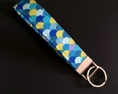 Fish Scales Wristlet Key Fob Keychain to Match Jubilee