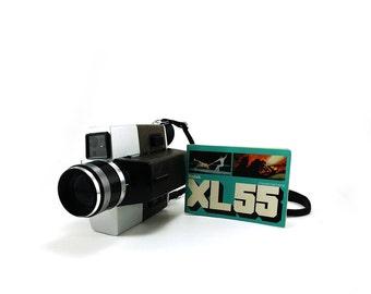Vintage Kodak XL55 movie camera, Super 8 video camera