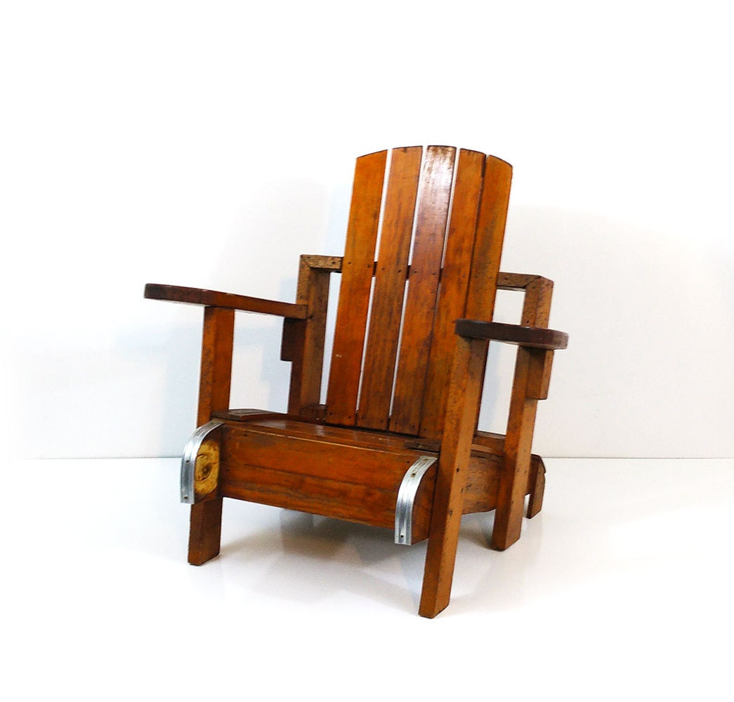 handmade adirondack chairs child s handmade wood adirondack chair 9343