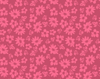 Petals in Pink Extravaganza Fabric - 1 Yard