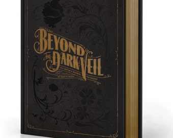 Signed & Embossed BEYOND The DARK VEIL 2014 1st Ed. ~ Post Mortem Photography Book