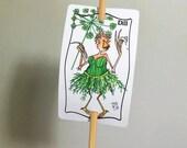 Jardin d'herbes aromatiques d'aneth signe métal signer sur bambou jeu UV protégé contre la décoloration 2 x 3 signe 12 pouces jeu personnalisable