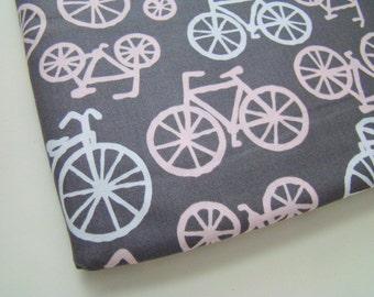 Michael Miller Bicycles Fabric, Cute Bike Fabric, OOP, HTF, FQ