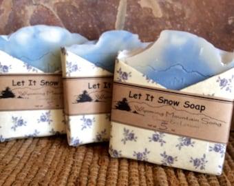 Let It Snow Soap