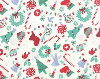 Jingle - Rejoice in Snow Ice by Kate Spain for Moda Fabrics