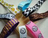 Adjustable Hair Bands No Slip Headbands, Great for Runner's, Athletes, Spirit Wear and More SALE CLOSEOUT and FREE Ship