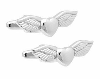 Heart Angel Cufflinks
