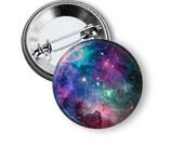 "Galaxy 1"" Pinback Button"
