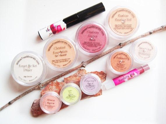 Pure and Natural - 11 pc. Satin Mineral Makeup Kit