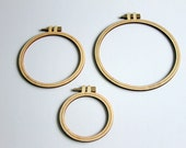 Crate Paper Craft Market Wood Veneer Hoops | Studio Calico Jupiter