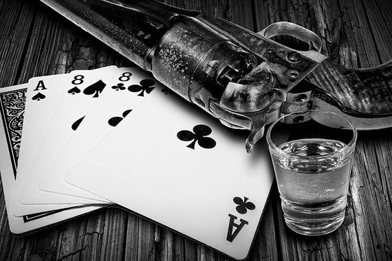 aces eights poker hand