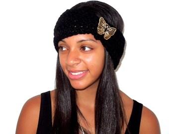Crochet Turban Headband, Earwarmer, Women, Teen, Chunky, Ready To Ship