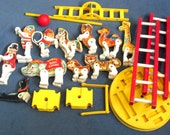 Fisher-Price Toy #900 F P Circus parts