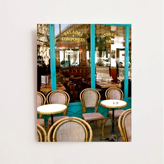 French Bistro Photograph